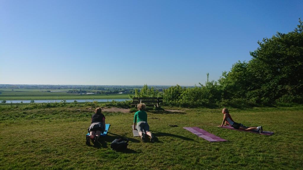 Outdoor Yoga Westerbouwing