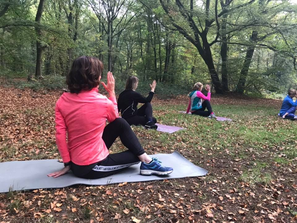 Buiten yoga outdoor yoga buitenyoga outdoor yoga oosterbeek renkum doorwerth